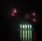 Πυροτεχνήματα - Ignis Brunensis Στοκ Φωτογραφίες