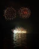 Πυροτεχνήματα - Ignis Brunensis Στοκ φωτογραφίες με δικαίωμα ελεύθερης χρήσης