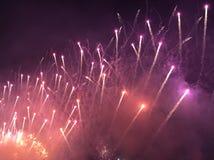 Πυροτεχνήματα Racecourse Shatin Στοκ Φωτογραφίες