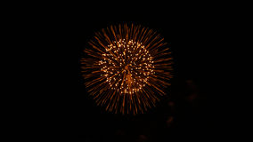 Πυροτεχνήματα VII Στοκ φωτογραφία με δικαίωμα ελεύθερης χρήσης