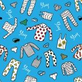 Πυτζάμες σχεδίων Στοκ φωτογραφία με δικαίωμα ελεύθερης χρήσης