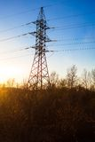 Πυλώνας ηλεκτρικής ενέργειας Στοκ εικόνες με δικαίωμα ελεύθερης χρήσης