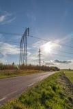 Πυλώνες ηλεκτρικής ενέργειας Στοκ φωτογραφία με δικαίωμα ελεύθερης χρήσης