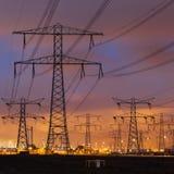 Πυλώνες δύναμης Στοκ φωτογραφία με δικαίωμα ελεύθερης χρήσης