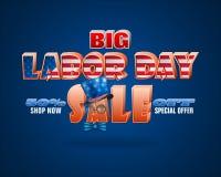 Πωλήσεις της Εργατικής Ημέρας στην Αμερική Στοκ Εικόνες