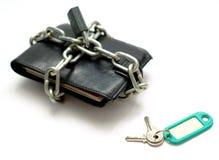 πωλήσεις χρημάτων που ξεκλειδώνουν το πορτοφόλι Στοκ φωτογραφία με δικαίωμα ελεύθερης χρήσης