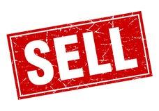 Πωλήστε το γραμματόσημο διανυσματική απεικόνιση