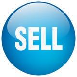 Πωλήστε το κουμπί διανυσματική απεικόνιση