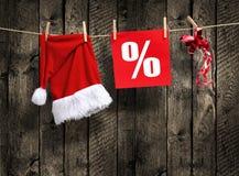 ΠΩΛΗΣΗ Χριστουγέννων Στοκ Εικόνες