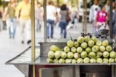 Πωλητής καλαμποκιού στοκ φωτογραφία