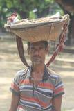 Πωλητής φυστικιών στοκ εικόνες