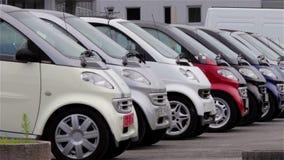 Πωλήσεις αυτοκινήτων απόθεμα βίντεο