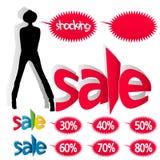 Πωλήσεις μόδας Στοκ Φωτογραφίες