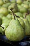 Πωλήσεις φρούτων αχλαδιών Στοκ Εικόνες