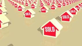 Πωλημένος σπίτια βρόχος