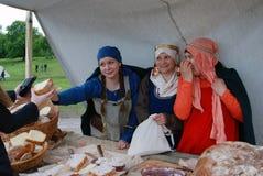 Πωλητές ψωμιού Στοκ Εικόνες