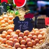 Πωλητής αυγών Στοκ φωτογραφίες με δικαίωμα ελεύθερης χρήσης