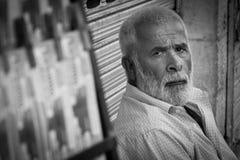 Πωλητής λαχειοφόρων αγορών στην οδό Στοκ Φωτογραφίες