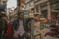 Πωλητής οδών βιβλίων Στοκ εικόνες με δικαίωμα ελεύθερης χρήσης