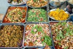 Πωλητής τροφίμων στην Ταϊλάνδη Στοκ Φωτογραφίες
