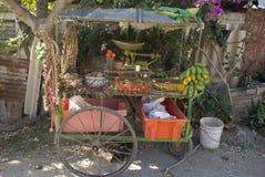 Πωλητής φρούτων, Cienfuegos, Κούβα Στοκ εικόνα με δικαίωμα ελεύθερης χρήσης