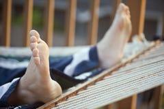 πόδια αιωρών Στοκ φωτογραφία με δικαίωμα ελεύθερης χρήσης