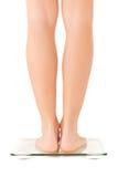 πόδια γυναικών κλίμακας Στοκ εικόνα με δικαίωμα ελεύθερης χρήσης
