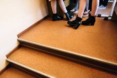 Πόδια κοριτσιών στοκ εικόνες με δικαίωμα ελεύθερης χρήσης