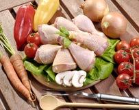 πόδια κοτόπουλου ακατέργαστα Στοκ φωτογραφία με δικαίωμα ελεύθερης χρήσης