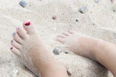 πόδια λίγα Στοκ Εικόνες