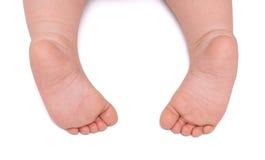 πόδια μωρών λίγα δύο Στοκ φωτογραφίες με δικαίωμα ελεύθερης χρήσης
