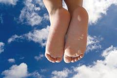 πόδια παιδιών Στοκ Φωτογραφία