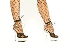πόδια προκλητικά Στοκ Εικόνα