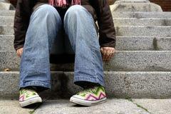 πόδια στήριξης Στοκ Φωτογραφίες