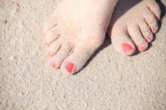 Πόδια της Νίκαιας στο ύδωρ Στοκ Φωτογραφίες