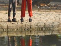 Πόδια των παιδιών στοκ φωτογραφία
