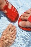 πόδια ύδατος Στοκ φωτογραφία με δικαίωμα ελεύθερης χρήσης