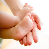 πόδια s μωρών Στοκ Εικόνα