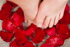 πόδια wellness Στοκ φωτογραφία με δικαίωμα ελεύθερης χρήσης