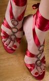 πόδια womans Στοκ φωτογραφίες με δικαίωμα ελεύθερης χρήσης