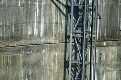 Πόδι γεφυρών τρόπων ανελκυστήρων στοκ εικόνες