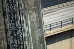 Πόδι γεφυρών τρόπων ανελκυστήρων στοκ εικόνα