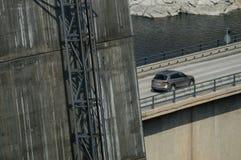 Πόδι γεφυρών τρόπων ανελκυστήρων στοκ εικόνες με δικαίωμα ελεύθερης χρήσης