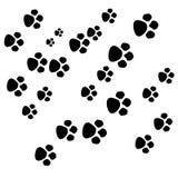 πόδι σκυλιών διανυσματική απεικόνιση