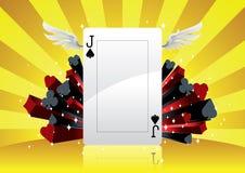 πόκερ ανασκόπησης Ελεύθερη απεικόνιση δικαιώματος