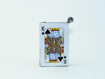 Πόκερ βασιλιάδων Στοκ εικόνες με δικαίωμα ελεύθερης χρήσης