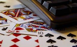 πόκερ Διαδικτύου στοκ εικόνα με δικαίωμα ελεύθερης χρήσης