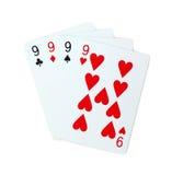 Πόκερ καρτών παιχνιδιού Στοκ φωτογραφία με δικαίωμα ελεύθερης χρήσης