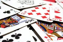 πόκερ καρτών Στοκ φωτογραφία με δικαίωμα ελεύθερης χρήσης