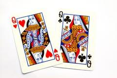 πόκερ κινηματογραφήσεων σε πρώτο πλάνο Στοκ Εικόνες